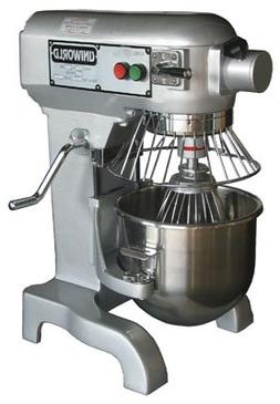 New Uniworld 10 qt Bakery Mixer Commercial Gear Drive Dough