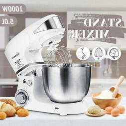 Sokany 1000W 5L Electric Food Stand Mixer Dough Hook Whip Be