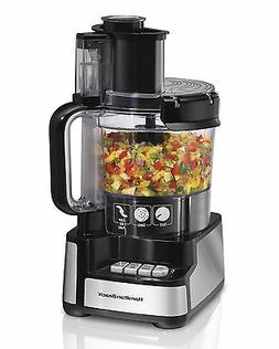 Hamilton Beach 12-Cup Stack and Snap Food Processor  Large S