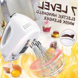 220V 7 Speed Dough Hand Held <font><b>Mixer</b></font> Food