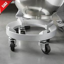 Omcan 23512 Heavy Duty Bowl Dolly, Truck For Hobart Mixer 30