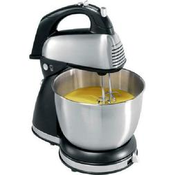 290W Classic Hand And Stand Mixer 6 Speeds Durable Stainless