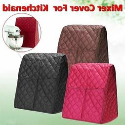 3 Color Cloth Quilted Pocket Blender Mixer Cover + Organizer