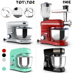 3 in 1/Mix-only Tilt-Head Stand Mixer 4.7/7QT Bowl 6/8 Speed