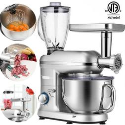 VIVOHOME 3 In 1 Stand Mixer 6QT Stainless Steel Bowl Food Me