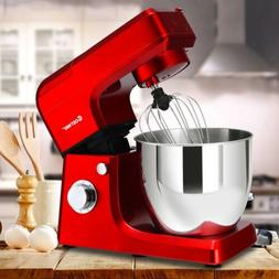 3 In 1 Stand Mixer with 7QT Stainless Steel Bowl Detachable