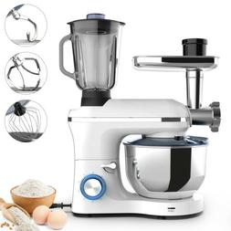 3in1 850W 6 Speeds Tilt-Head Stand Mixer Meat Grinder Blende
