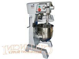 Uniworld 30 Qt Mixer Stainless Steel Bowl commerical quart b
