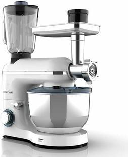 Stand Mixer 3 in1 850W w/7QT Tilt-Head Bowl 6 Speeds Meat Gr