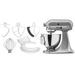 KitchenAid 4.5-quart Classic Tilt-Head Stand Mixer Bundle w/