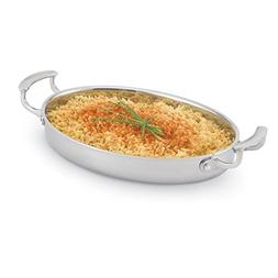 Vollrath 49412 Miramar 2.63 Quart Oval Au Gratin Pan