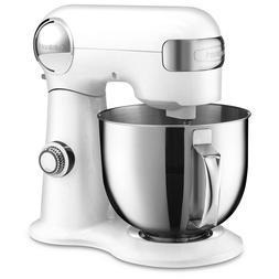 Cuisinart 5.5-Quart Stainless steel bowl/ 500-watt White Cou