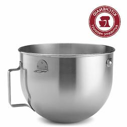 KitchenAid 5-Qt. Bowl-Lift Polished Stainless Steel Bowl wit