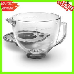 KitchenAid 5 qt. Glass Bowl for Tilt-Head Stand Mixers with