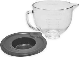 KitchenAid 5 qt. Tilt-Head Mixer Glass Bowl with Lid