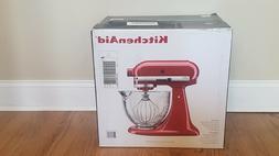 KitchenAid 5-Qt Tilt-Head Stand Mixer w/ Glass Bowl and Flex
