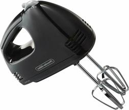 Proctor Silex 5 Speed Easy Mix Electric Hand Mixer with Bowl