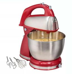 6 Speed Classic Stand Mixer and 4-Quart Bowl, Hamilton Beach