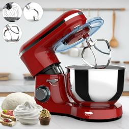 Electric Stand Mixer 6 Speed 660W 7QT Tilt-Head Kitchen Food