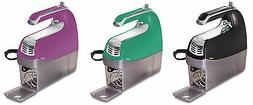 Hamilton Beach 6-Speed Hand Mixers with Snap on Cases