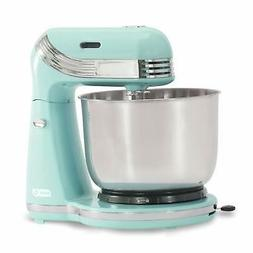 Stand Mixer Aqua 6 Speed with 3 qt Stainless Steel Mixing Bo