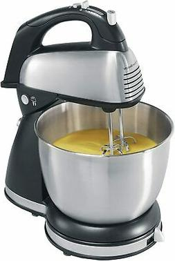 Hamilton Beach 64650 6-Speed Classic Stand Mixer Stainless S