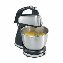 Hamilton Beach 64650 6Speed Classic Stand Mixer Stainless St