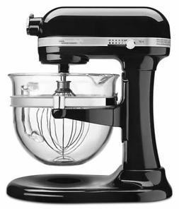 Professional 6500 Design Onyx Black Bowl-Lift Stand Mixer w/