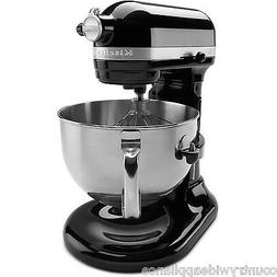 KitchenAid 6qt PRO 600 Series Stand Mixer w/Pour Shield Onyx
