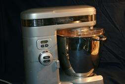 Cuisinart 7 Qt Stand Food Mixer, Brushed Chrome, Stainless B