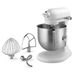 KitchenAid 8 Quart Commercial Stand Mixer  - White