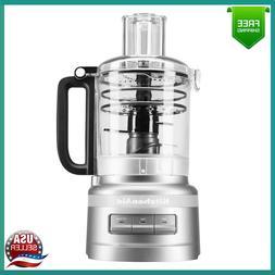 KitchenAid 9 Cup Food Processor Plus 3 Speed Options Free Sh