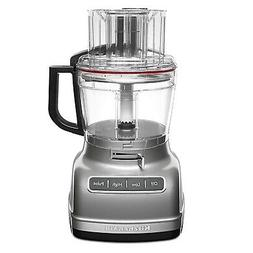 Kitchenaid - 11-cup Food Processor - Contour Silver