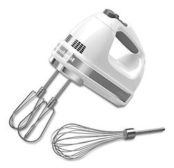 Kitchenaid - 7-speed Hand Mixer - White