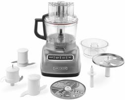 Kitchenaid - 9-cup Food Processor - Contour Silver