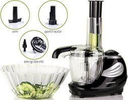 Ovente Pulse Electric Mini Food Processor and Chopper,1.5 Cu