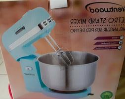 Brentwood Appliances 5-Spd Baby Blue Retro Stand Mixer 3.5 Q