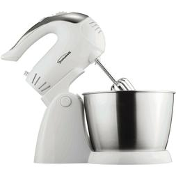 Brentwood Appliances 5-Speed + Turbo Electric Stand Mixer wi