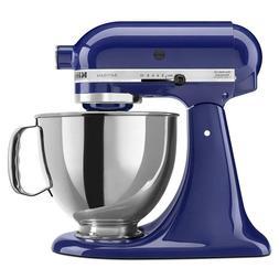 KitchenAid Artisan 5 Qt Stand Mixer Cobalt Blue  with Access