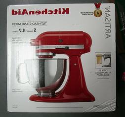 KitchenAid Artisan 5QT Tilt-Head Stand Mixer KSM150PSER Empi