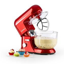 KLARSTEIN Bella Rossa 2g • Tilt-Head Stand Mixer • Dough