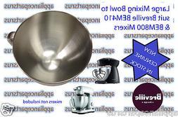 Breville BEM410 BEM800 Mixer Stainless Steel Bowl - Part No