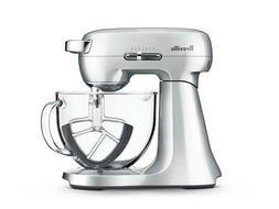 Breville BEM430SIL the Scraper Mixer with 4.7L Glass Bowl -