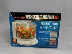 Black & Decker Home One-Touch Chopper.