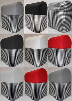 Black & White Checked Cover Compatible with Kitchenaid Stand