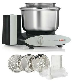 Bosch Black Universal Plus 800W 6.5 Qt Kitchen Mixer w/ Larg