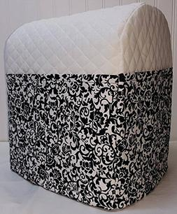 Penny's Needful Things Black & White Floral Damask Cover Com
