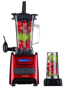 Ovente BLH1000R 1000 Watt Robust Professional Blender with B