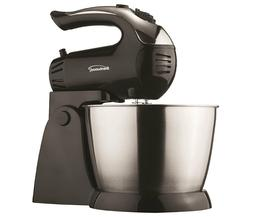 BRAND NEW Brentwood SM-1153 5-Speed + Turbo Stand Mixer, Bla