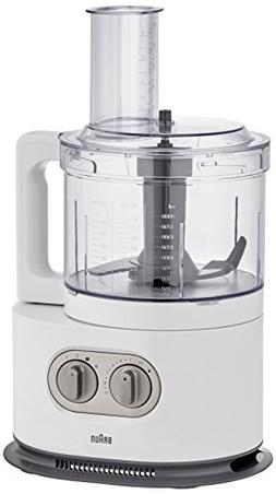 Braun FP5160WH Identity Collection Food Processor , 220V, Wh
